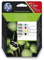 HP 934XL/935XL multipack zwart en kleur (Origineel Hoge Capaciteit)