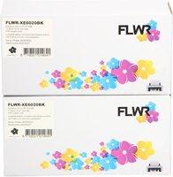 FLWR Xerox 6020 zwart 2-pack zwart (Huismerk (compatible))