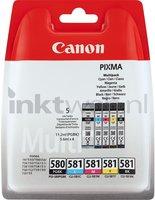 Canon CLI-581 5-Pack zwart en kleur (Origineel)