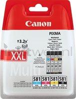 Canon CLI-581XXL 4-pack zwart en kleur (Origineel XXL)