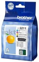 Brother LC-3211 Multipack zwart en kleur (Origineel)