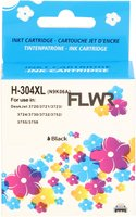 FLWR HP 304XL zwart (Huismerk (remanufactured))