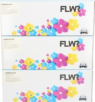 FLWR HP 410X 3-pack kleur (Compatible XXL)