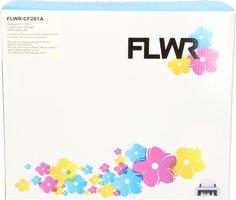 FLWR HP 81A zwart (Huismerk (compatible))