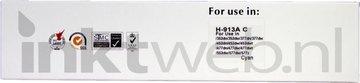 Huismerk HP 913A cyaan (Huismerk (compatible))