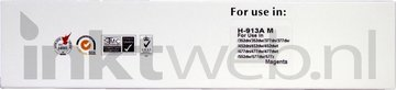 Huismerk HP 913A magenta (Huismerk (compatible))