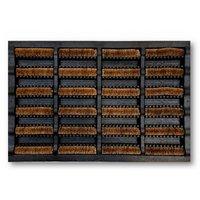 Intrada Bootscraper Bison Buitenmat 40x60 cm Bruin/Zwart