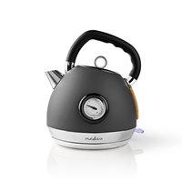 Nedis KAWK530EGY Waterkoker 1,8 L Soft-touch Grijs