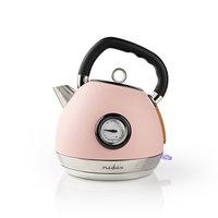 Nedis KAWK530EPK Waterkoker 1,8 L Soft-touch Roze