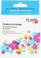 FLWR Brother LC-127XLBK zwart (Compatible XXL)