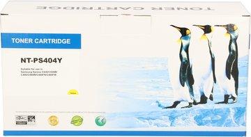 FLWR Samsung CLT-Y404S geel (Huismerk (compatible))