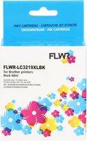FLWR Brother LC-3219BK zwart (Huismerk (compatible))