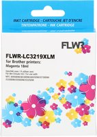 FLWR Brother LC-3219M magenta (Huismerk (compatible))