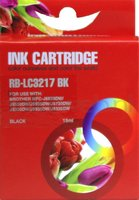 FLWR Brother LC-3217BK zwart (Huismerk (compatible))