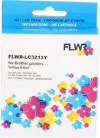 FLWR Brother LC-3213 geel (Compatible XXL)