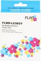 FLWR Brother LC-985Y geel (Huismerk (compatible))