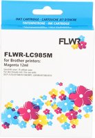 FLWR Brother LC-985M magenta (Huismerk (compatible))