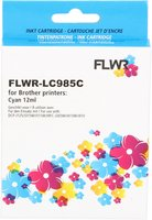 FLWR Brother LC-985C cyaan (Huismerk (compatible))