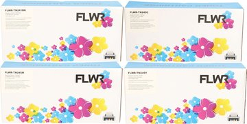 FLWR Brother TN-241/TN-245 Multipack (Huismerk (compatible))