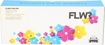 FLWR Brother TN-910M magenta (Huismerk (compatible))