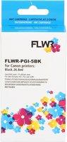 FLWR Canon PGI-5BK zwart (Compatible XXL)