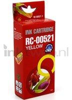 FLWR Canon CLI-521Y geel (Huismerk (compatible))