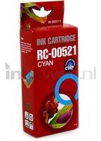 FLWR Canon CLI-521C cyaan (Huismerk (compatible))