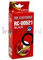 FLWR Canon CLI-521BK zwart (Huismerk (compatible))