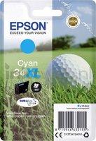 Epson 34XL cyaan (Origineel Hoge Capaciteit)