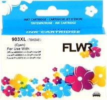 FLWR HP 903XL cyaan (Huismerk (compatible))