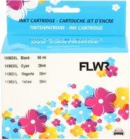 FLWR HP 953XL zwart en kleur (Huismerk (compatible))