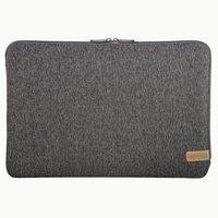 Hama Notebook-sleeve Jersey Tot 40 Cm (15,6) Donkergrijs