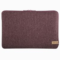 Hama Notebook-sleeve Jersey Tot 34 Cm (13,3) Donkerrood