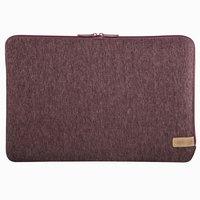 Hama Notebook-sleeve Jersey Tot 44 Cm (17,3) Donkerrood