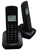 Thomson Dect Telefoon Mica Duo Met Antwoordapparaat Zwart