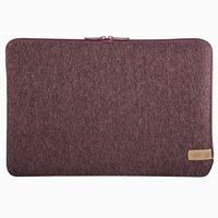 Hama Notebook-sleeve Jersey Tot 36 Cm (14,1) Donkerrood