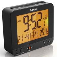 Hama Radiogestuurde Wekker RC 550 Met Nachtlicht-functie