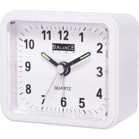 Balance 132941 Alarm Clock Analogue White