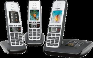 Gigaset A670A Trio Telefoons