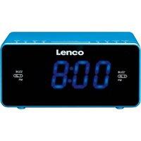 Lenco CR-520 Klokradio Blauw