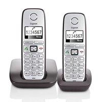 Gigaset E310 Telefoons 2 Stuks Zilver/Grijs