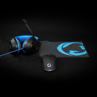 Nedis GCK31100BK Gaming Combo Kit 3-in-1 Headset, Mouse And Mouse Pad