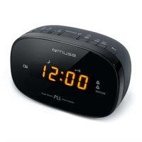 Muse M-150CR Wekkerradio Zwart