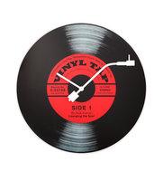 NeXtime NE-8141 Wandklok Dia. 43 Cm, Glas, 'Vinyl Tap'