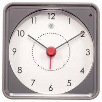 NeXtime NX-7343GS Alarmklok NXt Nathan 7.3 X 7.3 X 3.3 Cm Grijs