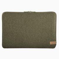Hama Notebook-sleeve Jersey Tot 44 Cm (17,3) Olijf