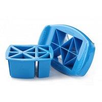 Funbites IJsblokjesvorm Driehoeken Blauw