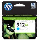 HP 912XL cyaan (Origineel Hoge Capaciteit)
