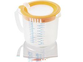 Leifheit 3168 3in1 Maatbeker Measure & Store 1,4 L