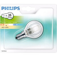 Philips Ecoclassic Dimbare Halogeen Kogel Lamp 28W (35W) E14
